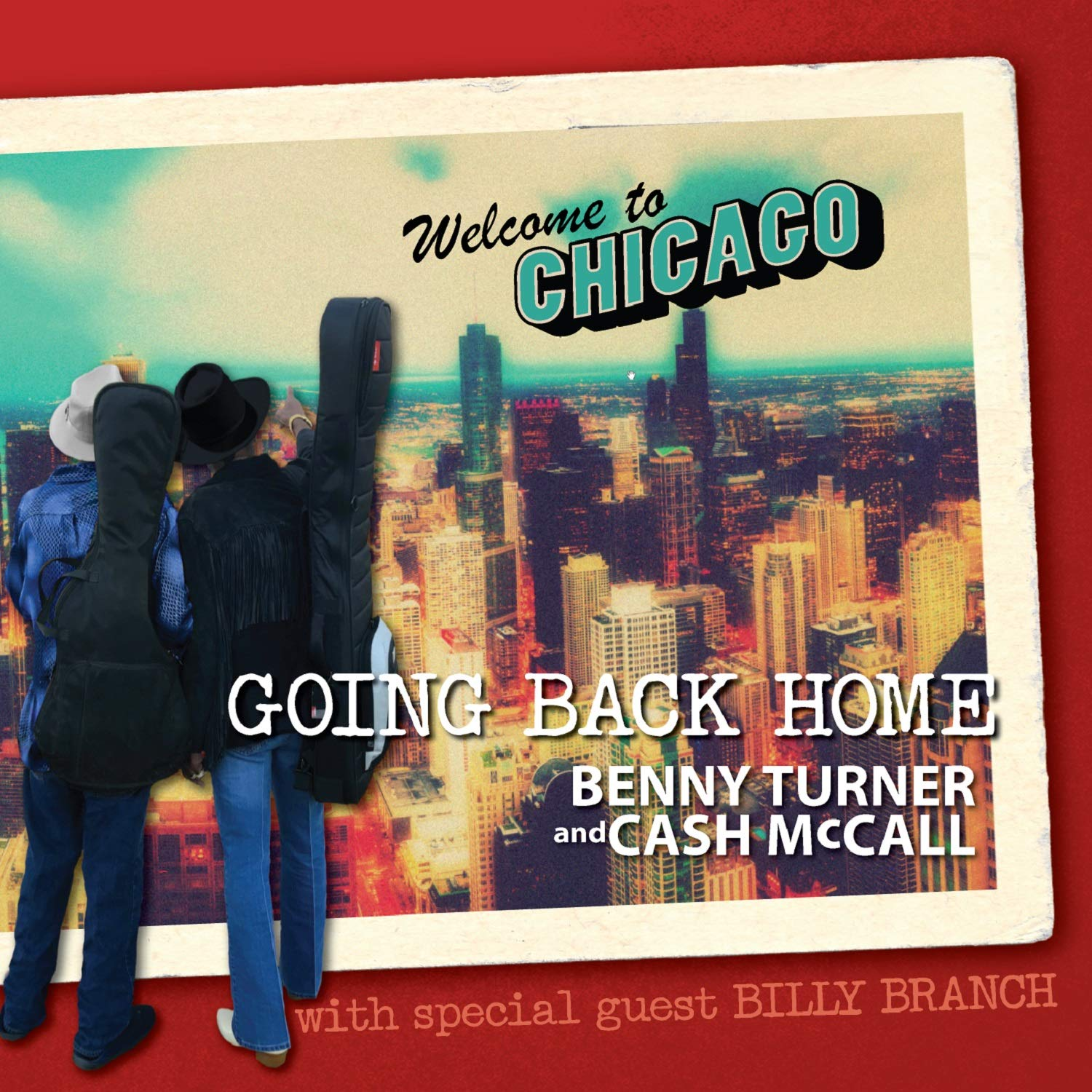 BENNY TURNER & CASH McCALL / Going Back Home